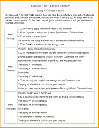 Itinerary Travel Template Detailed Travel Itinerary Template Word Tour Tourism Nyani Co