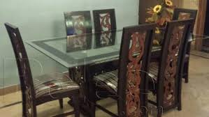 dining table and chairs for sale in karachi. 6 chairs sheesham wooden dining table for sale in reasonable prices. karachi and c