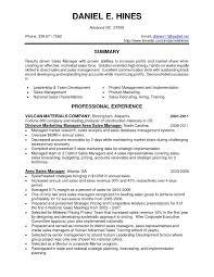 Sales Resume Skills Examples