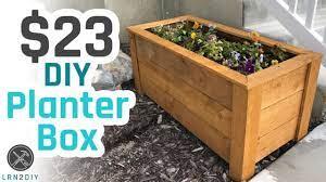23 diy planter box you
