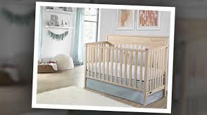 Graco Lauren 4-in-1 Convertible Crib in Whitewash - YouTube
