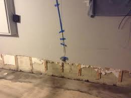 installing beadboard in basement is drywall repair necessary