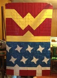 Best 25+ Batman quilt ideas on Pinterest | Crochet batman, Make my ... & Wonder Woman quilt... would love to Adamdwight.com