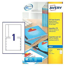 Avery Cd Insert Template Case Inserts 5931 Label Word