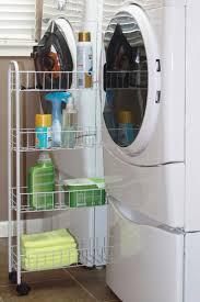 Washer Dryer Shelf 121 Best Organizing The Laundry Room Images On Pinterest Home