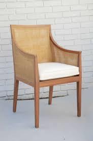 mid century modern vintage flexform cane chair for