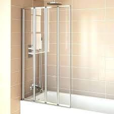 bifold glass shower doors glass shower doors folding s frameless folding glass shower doors
