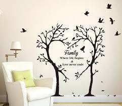 vinyl decal wall art gutesleben intended for 2017 vinyl wall art tree gallery 11