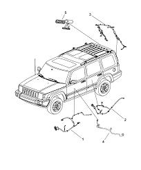 2008 jeep mander wiring door deck lid and liftgate