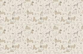 Sausage Dog Pattern Wallpaper Mural ...