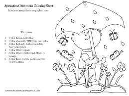 Following Directions Coloring Worksheet Free Worksheets Library ...