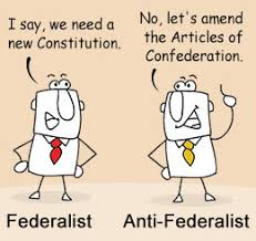 federalists anti federalists federalists vs anti federalists picking up the age old debate