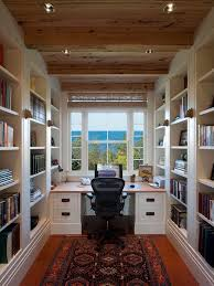 home office decorating ideas nyc. my dream home office with ocean view love the wood ceiling built in bookshelves an desklove it all decorating ideas nyc