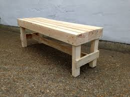 Reclaimed Pallet Timber Bench. A simple ...