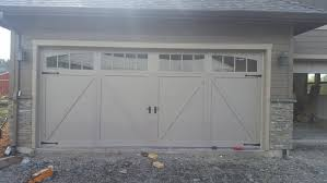 residential installation looking for a new garage door