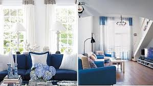 blue and white living room decorating ideas. Plain White View In Gallery Throughout Blue And White Living Room Decorating Ideas U