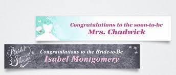 custom wedding, bridal shower & bachelorette party banners party Wedding Banner Custom shop now custom bridal shower banners custom wedding banner