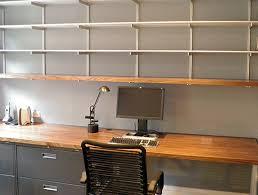 rakks wall shelving in chicago private office