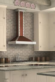 Remodel your kitchen with the ZLINE KB2-CSSXS designer wall mount copper range  hood,