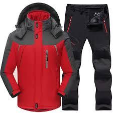 <b>Ski Suit Men</b> Skiing and Snowboarding <b>Sets</b> Super Warm ...