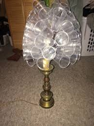 picture of plastic cup lamp shade