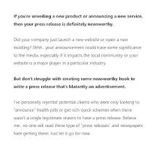 Business Press Release Template Writing A Media Release Template Music Press New Album