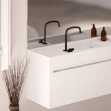 Black Taps Bathroom Cocoon Mono Kitchen Tap Interdema