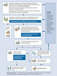 report 2 detecting and preventing fraud in the citizenship program immigration process flow chart