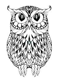 Coloring Pages Owl Coloring Sheets To Print Snowy Pages Page