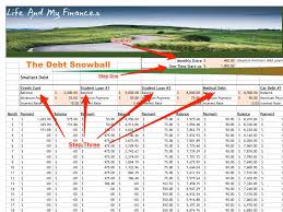 Credit Card Debt Spreadsheet Excel Payoff Calculator For Snowball