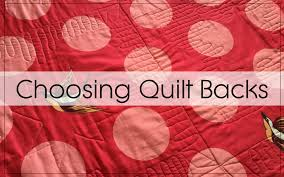How To Choose Quilt Backing | Blossom Heart Quilts &  Adamdwight.com