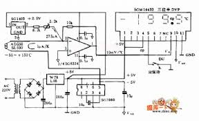 index sensor circuit circuit diagram com 55 150acirc132131 digital thermometer circuit diagram