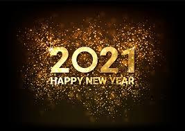Carte De Voeux Bonne Année 2021 Belle Bannière Web De Vacances Carrée Ou  Panneau Daffichage Avec
