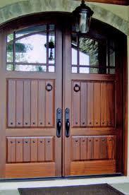 craftsman double front door. Home \u003e Craftsman \u0026 Tuscany , Custom Wood Doors Divided Lite CS-08 Double Front Door N