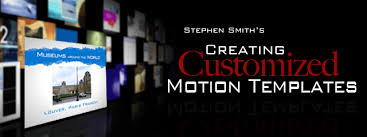 Motion Template Creating Customized Motion Templates Apple Motion Tutorial