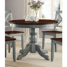 better homes and gardens cambridge place dining table blue from round dining room table