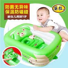 get ations large thick inflatable baby bath tub folding bucket bath baby new born children newborn baby supplies