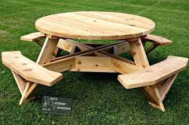 round picnic table plan wood picnic table google search lovely round pleasant 2 free picnic