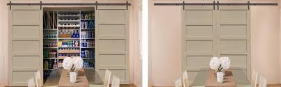 sliding barn doors as pantry doors in jacksonville