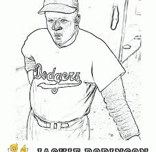 Small Picture Jackie robinson coloring page fired up free coloring pages
