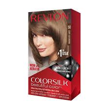Revlon Light Ash Brown Hair Color Chart Revlon Colorsilk Beautiful Color Hair Color Light Ash Brown