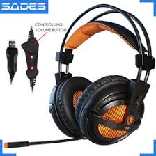 sades sa818 casque ps4 gaming headset bass earphones with microphone stereo pc headphones for mac cell phone new xbox one laptop
