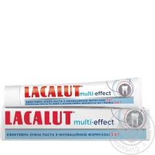 <b>Lacalut</b> Multi-effect 5in1 Toothpaste 75ml buy from 59.90 uah ...