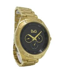 dolce amp gabbana time dw0653 men 039 s round gold tone day dolce gabbana time dw0653 men s round gold tone day date r numeral watch