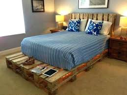 bed frame made of pallet view in gallery single ideas with headboard pallets bed frame made of pallet