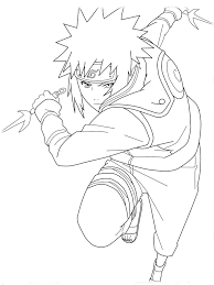 Small Picture Naruto Coloring Pages Manga Naruto Coloring Pages For Kids