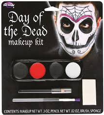 day of the dead male face painting fx makeup kit