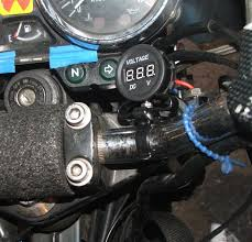 motorcycle voltmeter 8 steps pictures mount your meter