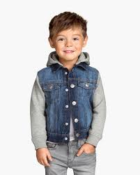 h m hooded denim jacket for boys