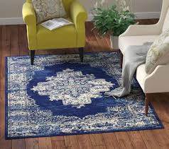 i love the blue in this charlton home susan area rug it s d at just 61 99 in the 5 3 x 7 3 size and the 10 off will drop the to 55 79